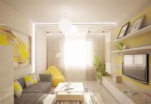 Wohnzimmer modern einrichten Kalte oder warme Töne?