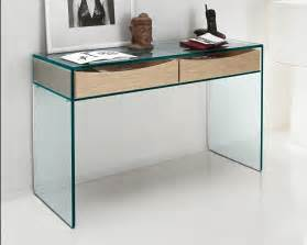 Large Bookcases Uk by Tonelli Gulliver Clear Glass Desk Console Table Glass Desks