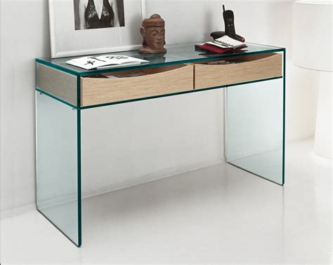 console bureau ikea tonelli gulliver clear glass desk console table glass desks