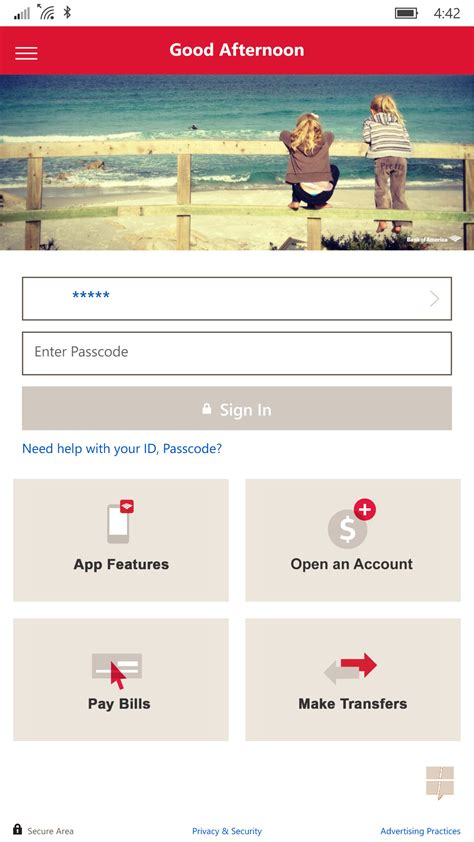 bank of america phone app exclusive look at the new bank of america app for