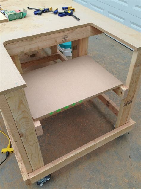 make a table saw table building your own wooden workbench make