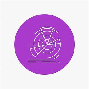 Circle Diagram With Icon Stock Vector  Illustration Of