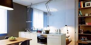 separer sans cloisonner toutes nos solutions de meubles With meuble pour separer cuisine salon 10 comment installer une verriare dans sa cuisine