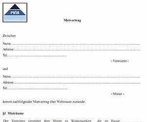 Mietvertrag Wg Zimmer Kostenlos : mietvertrag vorlage kostenlos runterladen und ausdrucken ~ Lizthompson.info Haus und Dekorationen