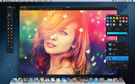 light photo editor pixelmator 2 2 with vector tools light leak effect and more