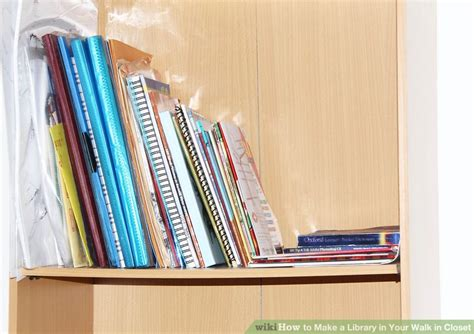 Walk In Closet Library by How To Make A Library In Your Walk In Closet 10 Steps