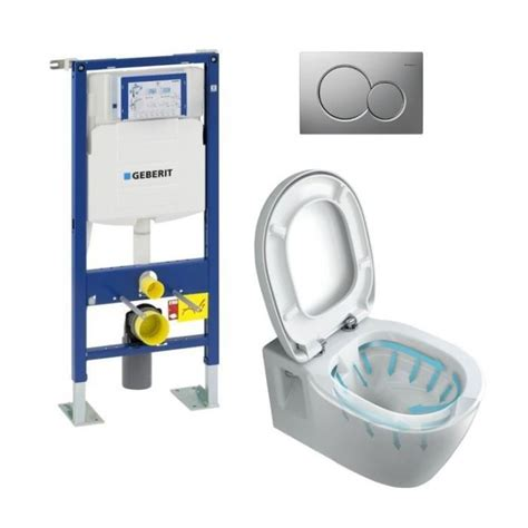 toilette suspendu geberit prix pack wc complet suspendu b 226 ti support geberit achat vente wc toilettes pack wc suspendu