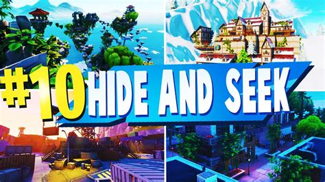 top   hide  seek creative maps  fortnite
