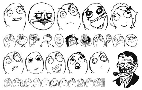 Meme Face Collection - fuuuu face www pixshark com images galleries with a bite