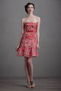 floral printed bridesmaid dress by bhldn onewedcom With printed wedding dress