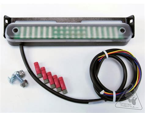 admore lighting high output led light bar with running