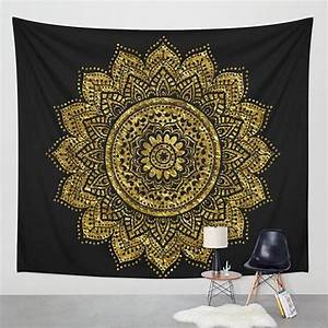 Boho Mandala Tapestry Hippie Room Bedspread Wall Hanging ...