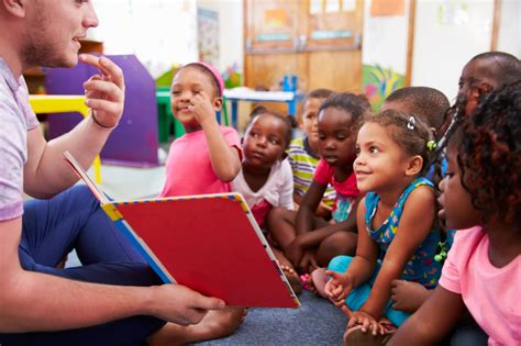 this is the most expensive state in america for child care 451 | Volunteer teacher reading to a class of preschool kids