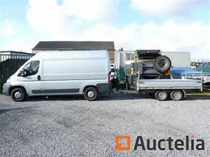 Camionnette Fiat : camionnette fiat ducato et remorque double essieux hapert ~ Gottalentnigeria.com Avis de Voitures