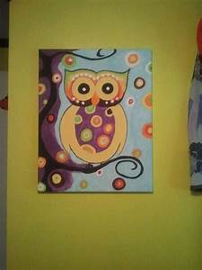 Abstract Owl Painting | Photos and Pics I like | Pinterest
