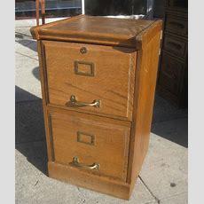 Uhuru Furniture & Collectibles Sold  Oak 2drawer File