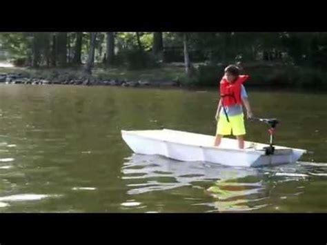 Coroplast Boat by 2nd Coroplast Origami Boat