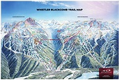 Whistler Blackcomb Piste Map – Free downloadable piste maps.