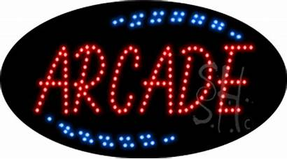 Arcade Sign Animated Led Neon Signs Games