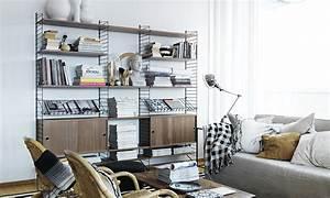 String Regal Ikea : string regal system nussbaum skandinavische wohnaccessoires ~ Markanthonyermac.com Haus und Dekorationen