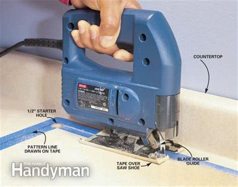 best saw to cut laminate countertop how to use a jigsaw the family handyman