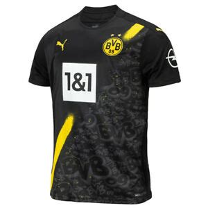 Fifa 21 bvb new tec marco rose. Puma 2020-2021 Borussia Dortmund Away Football Jersey ...