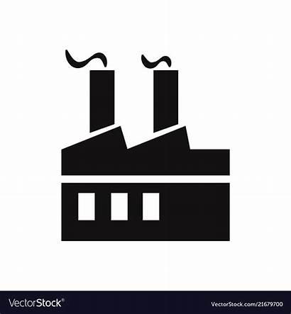 Factory Icon Vector Graphic Royalty Clipart Vectorstock