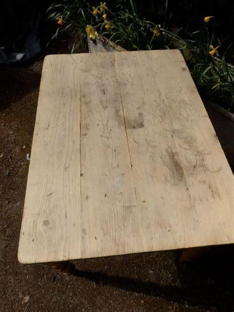 Pine Table, Scrubbed Top, Victorian   427354