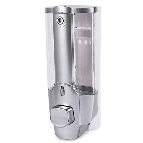 how to fix kitchen sink soap dispenser 350ml wall mount shower bath liquid soap shoo dispenser 9402