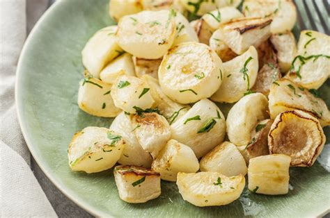 simply delicious roasted turnips recipe