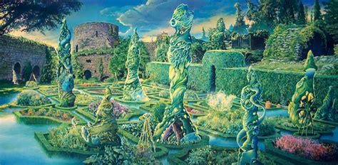 Secret Garden Iii  Fine Art  Contemporary Artwork