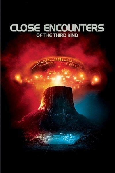 Close Encounters of the Third Kind Movie Poster Close