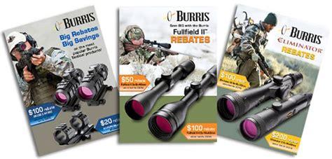 With Big Rebates by Big Rebates On Burris Optics Including Eliminator Laser
