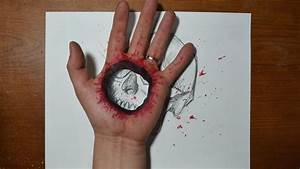 Cool 3D Trick Art - Bullet Hole in Hand –Costin Craioveanu