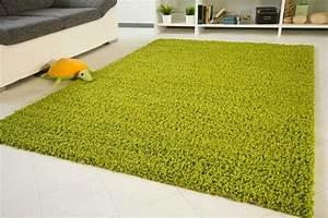 Hochflor Teppich Grün : shaggy langflor hochflor teppich funny gr n neu ebay ~ Markanthonyermac.com Haus und Dekorationen