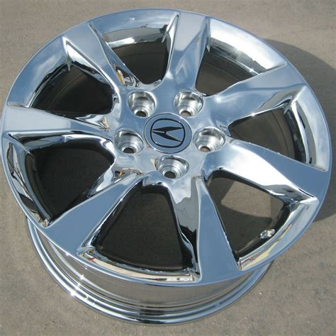 1 single 17 quot factory acura tl chrome oem rim wheel 2009 14