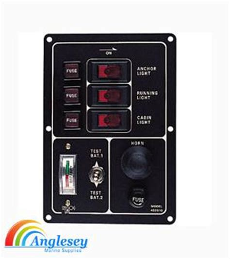 Boat Battery Tester by Boat Electrics Boat Switch Panel Boat Clocks Boat Gauges