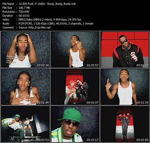 Download B2K Feat. P. Diddy (Puff Daddy) Video - Bump ...