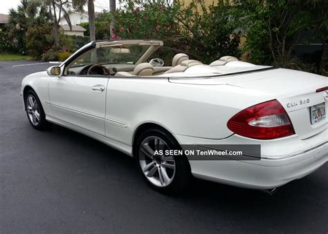 Our comprehensive reviews include detailed ratings on price and features, design, practicality, engine. 2008 Mercedes Benz Clk 350 Convertible, Interior, Power Top & Seats