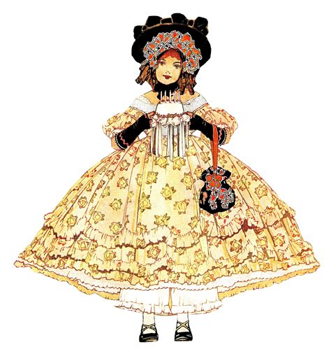 antique images digital antique girl fashion downloads
