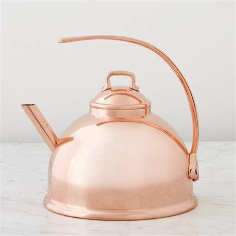 mauviel teakettle williams sonoma mauviel copper tea kettle tea kettle