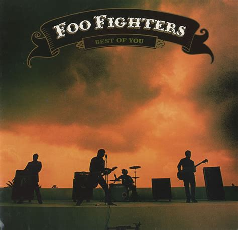 The Foo Fighters The Best Of You Foo Fighters Best Of You Us Promo 7 Quot Vinyl Single 7 Inch