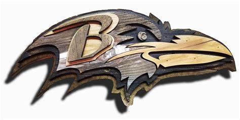 Baltimore Ravens Reclaimed Barn Wood Sign, vintage, art ...