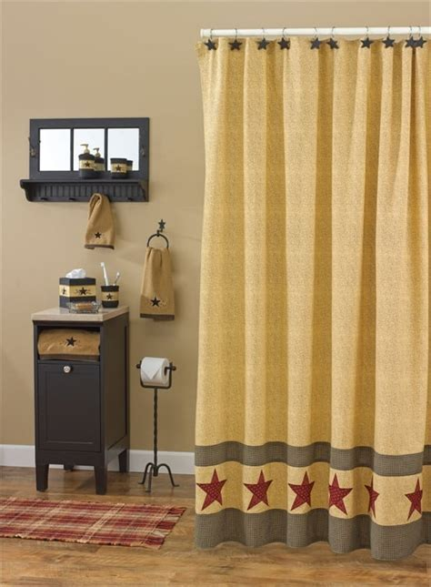 "Country Star Shower Curtain 72"" x 72"" Park Designs"