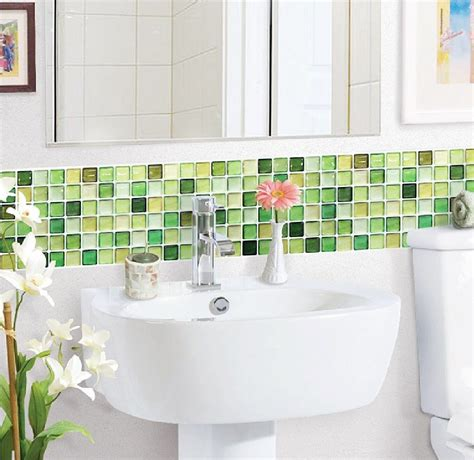 Lime Green Bathroom Tiles by Lime Green Glass Tiles Ideas And Products Interior