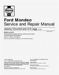 Wiring Diagrams And Free Manual Ebooks  All Ford Mondeo