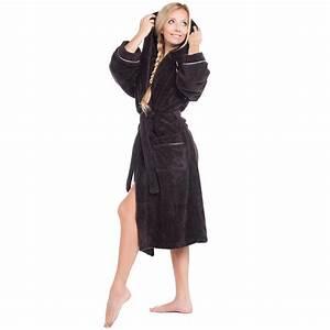 Bademantel Damen Flauschig : bademantel morgenmantel saunamantel wellness damen herren microfaser wellsoft ebay ~ Orissabook.com Haus und Dekorationen