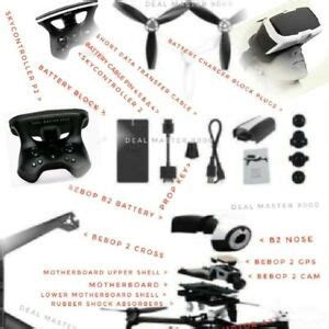 parrot bebop  camera nose motherboard feet gps props power button  sale ebay