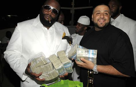 rappers flaunting  money complex