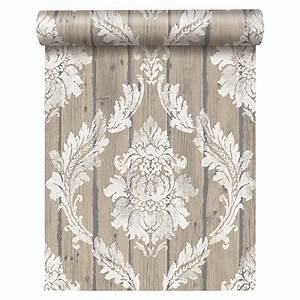 freundin home collection vintage vliestapete beige With markise balkon mit freundin home collection tapete